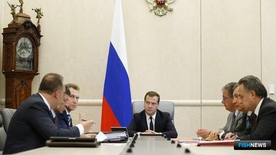 Премьер отметил важность работы с отечественными поставщиками. Фото пресс-службы Правительства РФ.