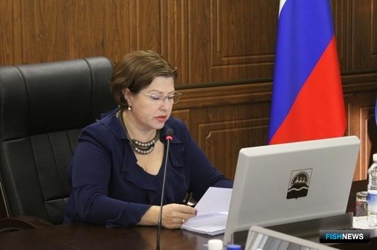 Заместитель председателя правительства Камчатского края Марина СУББОТА. Фото пресс-службы правительства региона