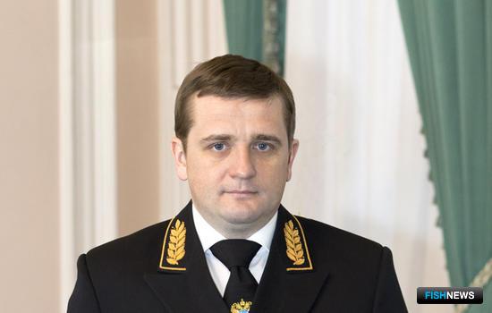 Заместитель министра сельского хозяйства – руководитель Федерального агентства по рыболовству Илья ШЕСТАКОВ