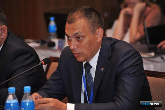 Министр рыбного хозяйства Камчатского края Владимир ГАЛИЦЫН