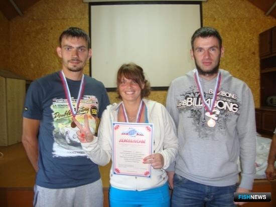Легкоатлеты ТИНРО центра - бронзовые призеры спартакиады