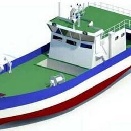 Типовая модель судна для глубоководного промысла, разработанная в Индии. Изображение с портала портал The Hindu