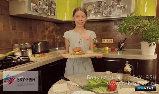 Кухня против школы. Рыбный бургер