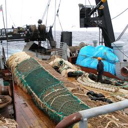 Рыболовное судно на Дальнем Востоке