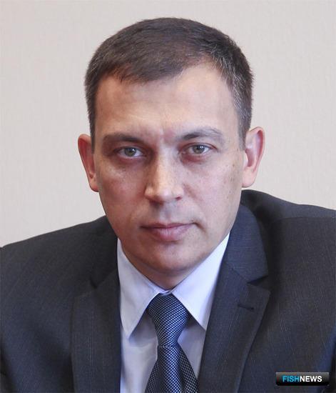 Руководитель министерства рыбного хозяйства Камчатского края Владимир ГАЛИЦЫН