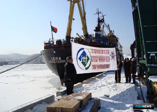 Представители профсоюза в Находкинском морском рыбном порту