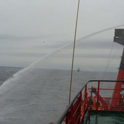 В Баренцевом море прошли учения Северного флота по поиску и спасению. Фото ФГБУ «Северный экспедиционный отряд аварийно-спасательных работ» Росрыболовства