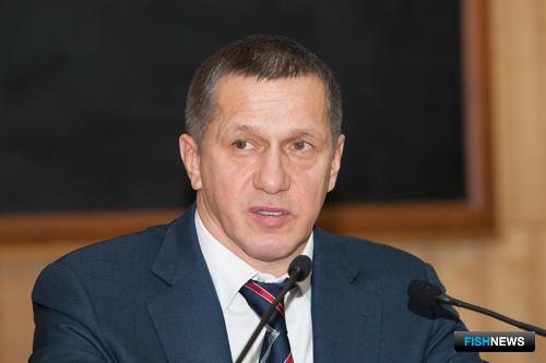 Заместитель председателя Правительства РФ – полпред Президента в Дальневосточном федеральном округе Юрий ТРУТНЕВ