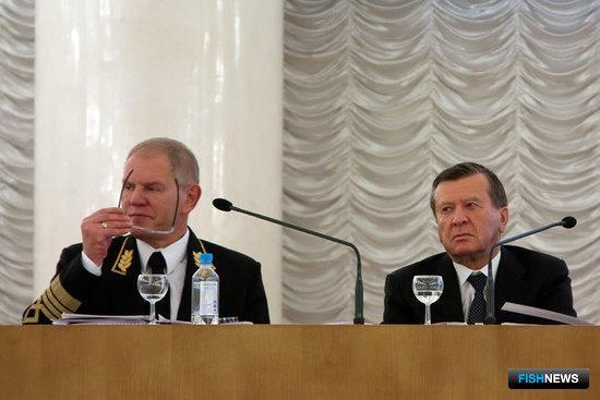 Андрей КРАЙНИЙ и Виктор ЗУБКОВ