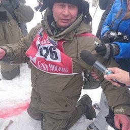 Победителем рыбацкого биатлона стал Вячеслав МИТРОФАНОВ