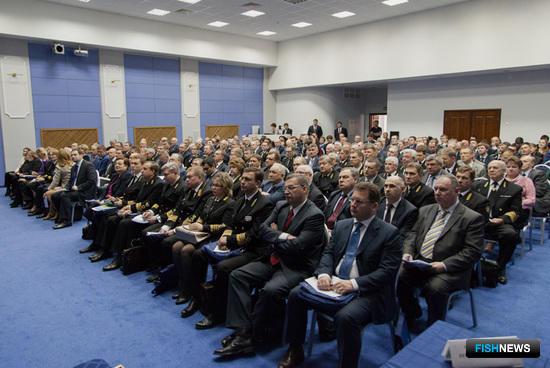 Расширенное заседание коллегии Федерального агентства по рыболовству в 2015 г.