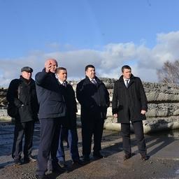 Участники встречи осмотрели Калининградский порт. Фото пресс-службы Росрыболовства