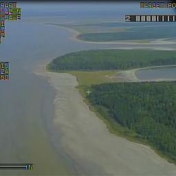 Контроль акватории и береговой полосы озера Медвежье производится с помощью беспилотного летательного аппарата