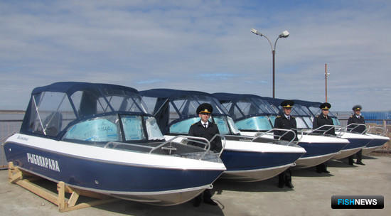 Рыбоохрана Амурского теруправления получила новые катера с мощными подвесными моторами. Фото пресс-службы Амурского ТУ
