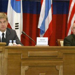 Выступление губернатора Приморского края на открытии Международного Съезда рыбаков