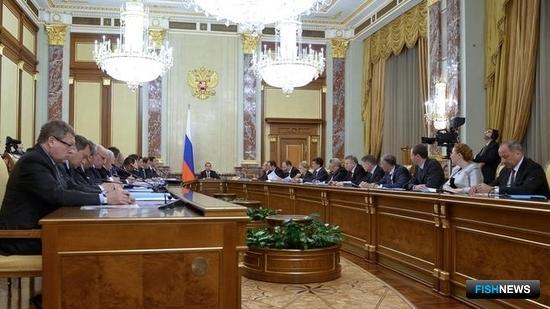 Заседание Правительственной комиссии по вопросам социально-экономического развития Дальнего Востока. Фото пресс-службы Правительства РФ