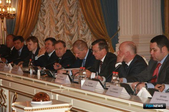 Совещание первого заместителя Председателя Правительства РФ Виктора Зубкова с представителями рыбохозяйственного комплекса