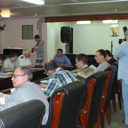 Гендиректор компании «Южморрыбфлот» Александр Ефремов провел собрание экипажа «Всеволода Сибирцева»