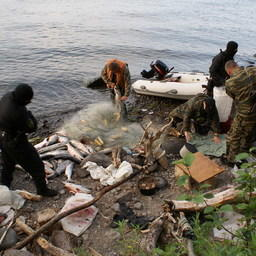 Рейд камчатских пограничников в Авачинской бухте