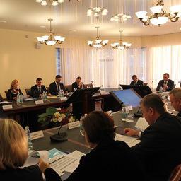 Вице-премьер – полпред президента в ДФО Юрий ТРУТНЕВ провел совещание по вопросам реализации проекта ТОР «Камчатка». Фото Виктора Гуменюка.