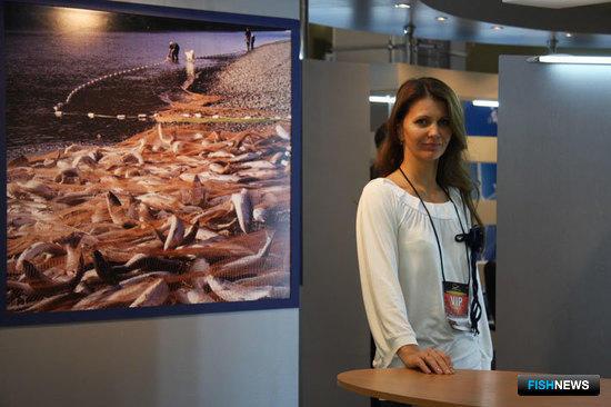 Член Оргкомитета Международной рыбохозяйственной выставки InterFISH Наталья ЛЕ ЛАНН (Росрыболовство)