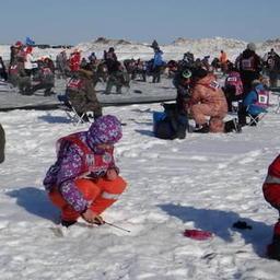 Рыбацкие соревнования «Сахалинский лед». Фото пресс-службы администрации Сахалинской области