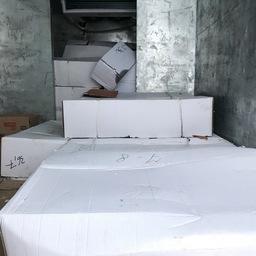 Продукцию везли в картонных коробках без маркировки. Фото пресс-службы Россельхознадзора