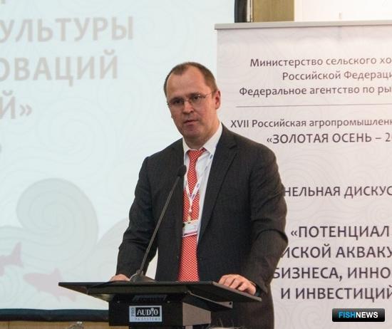 Генеральный директор ПАО «Русская аквакультура» Илья СОСНОВ