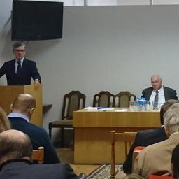 Выступление президента Всероссийской ассоциации рыбохозяйственных предприятий, предпринимателей и экспортеров Германа ЗВЕРЕВА