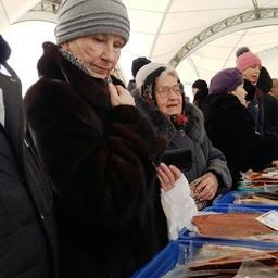Реализация проекта «Доступная рыба» осуществляется в Сахалинской области с апреля 2015 г. Фото пресс-службы регионально министерства торговли и продовольствия