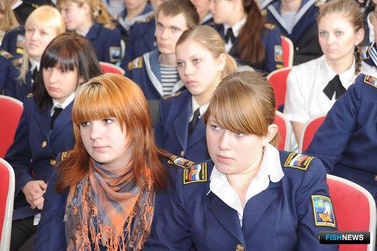 Студенты Владморрыбколледжа