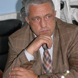 Встреча руководителя Госкомрыболовства Андрея Крайнего с рыбаками Приморья. Владивосток, сентябрь 2007 г.