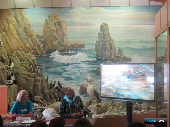 Организаторы показали фильм о нересте «красной рыбы»