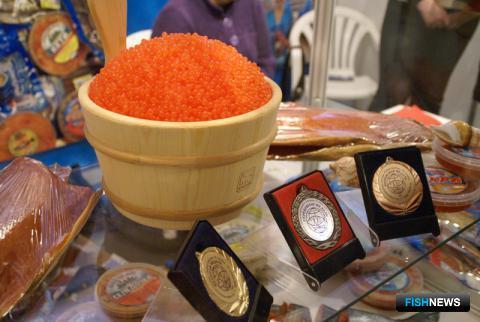 В Южно-Сахалинске ежегодно проходит специализированная выставка «Рыбная индустрия». Фото пресс-центра «СахалинЭкспо»