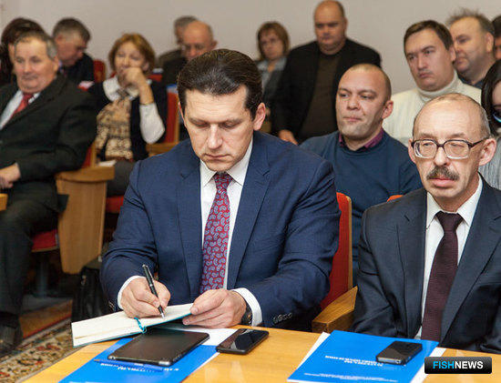 Председатель Ассоциации лососевых рыбоводных заводов Сахалинской области Андрей КОВАЛЕНКО