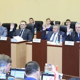 Шестая сессия Законодательного собрания Камчатского края. Фото пресс-службы заксобрания