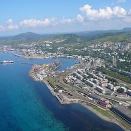 Вид на Сахалин с воздуха. Фото из открытых источников