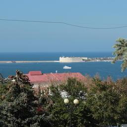 Вид на побережье Севастополя