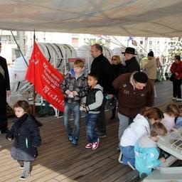 В порту Сет парусник открыл борт для жителей и гостей города. Фото пресс-службы БГАРФ
