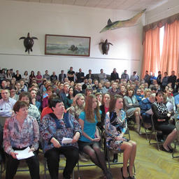 Общее собрание коллектива ТИНРО-Центра. Фото пресс-службы института