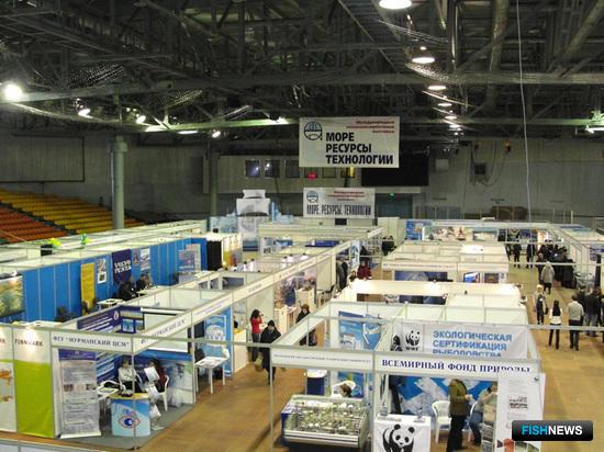 Международная рыбопромышленная выставка «Море. Ресурсы. Технологии». Фото пресс-службы компании «МурманЭКСПОцентр»