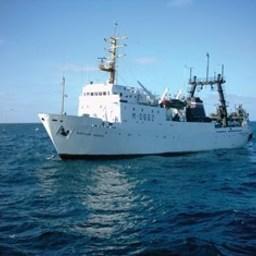 Научно-исследовательское судно «Фритьоф Нансен». Фото пресс-службы Полярного НИИ морского рыбного хозяйства и океанографии