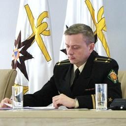 Сотрудник Пограничного управления ФСБ России по Приморскому краю Арсений Поплаухин
