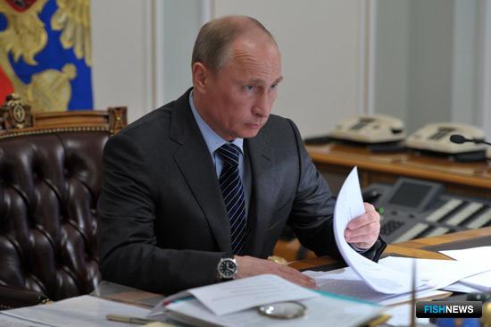 Глава государства Владимир ПУТИН. Фото с сайта президента РФ