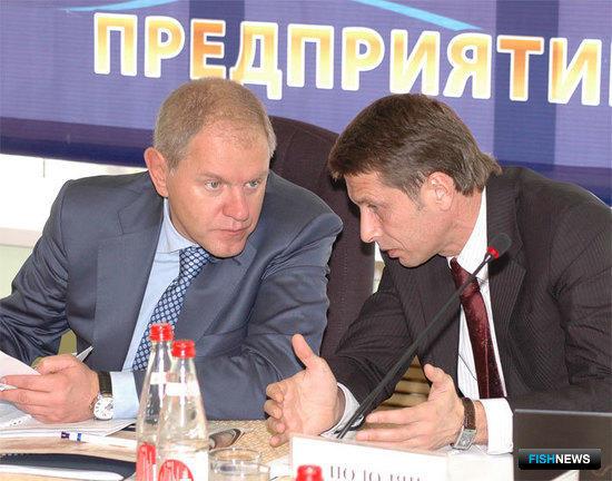 Андрей КРАЙНИЙ и Сергей ПОДОЛЯН, Всероссийское совещание рыбаков, Владивосток