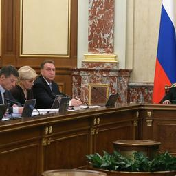 Доклад министра транспорта Максима СОКОЛОВА. Фото пресс-службы кабмина