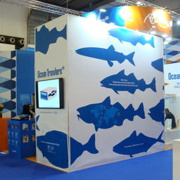Стенд Ocean Trawlers, традиционно стал одним из крупнейших в российском павильоне