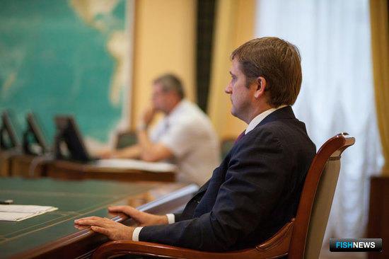 Руководитель Федерального агентства по рыболовству - заместитель министра сельского хозяйства РФ Илья ШЕСТАКОВ