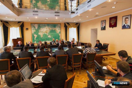 11 июля состоялось установочное заседание Общественного совета при Росрыболовстве