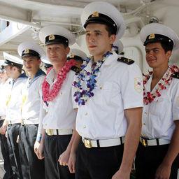 Российский парусник «Паллада» прибыл в Гонолулу